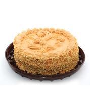 Торт 0.01 карамельно-ореховый 24