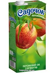 Сiк Садочок 0.95л персик