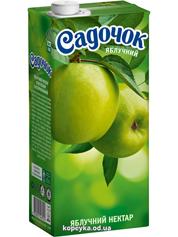 Нектар Садочок 0.95л яблуко