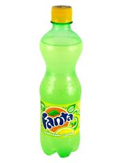 Вода Фанта 0.5л лимон