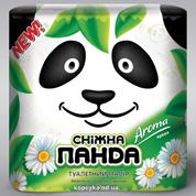Туалетний папiр Снiжна панда 4 шт арома