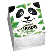 Серветки Сніжна панда 100 шт бiлi 24х24