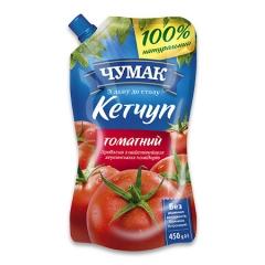 Кетчуп Чумак 450г томатний д.п