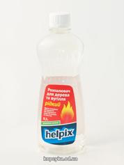 Розпалювач Helpix 500г д.дерева вугiлля рiдкий