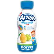 Йогурт Агуша 200мл 2.7% яблуко груша бут
