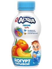 Йогурт Агуша 200мл 2.7% персик бут