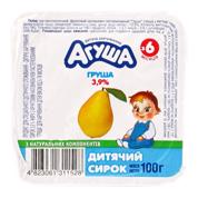 Сирок Агуша 100г 3.9% груша