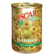 Оливки Оскар 300г б.к