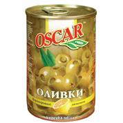 Оливки Оскар 300г з лимоном