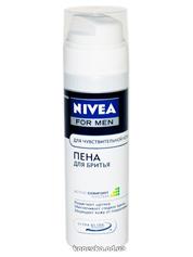 Піна д.гоління Нівея 200мл д.чутлівої кожи  81720