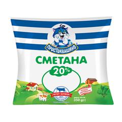 Сметана Веселий пастушок 400г 21% п.е