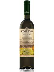 Вино Коблево 0.75л бордо мускат н.солодке біле