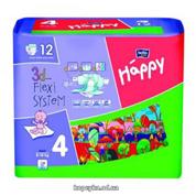 Пiдгузники Happy bella baby maxi 8-18кг 12шт
