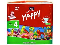 Пiдгузки Happy bella baby maxi 8-18кг 27шт