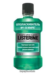 Ополіскувач д.рота Listerine 250мл захист зубів та яснен