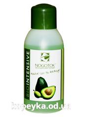 Рiдина д.зняття лаку Ногiток 100мл біоінтенсив олія ши авокадо