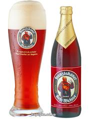 Пиво Franziskaner 0.5л hefe dunkel