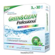 Порошок Green & Clean 1.2кг д.кольорового 12 прань