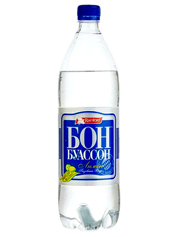 Вода Бон Буассон 2л мінеральна лимон