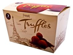 Шоколадні цукерки 200г французський трюфель