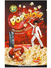 Попкорн для мікрохвильової печі popshow бекон 90г