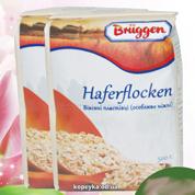 Вівсяні пластівці Брюгген 500г Haferflocken ніжні