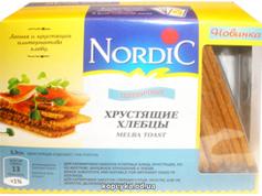 Хлібці Нордік 100г  зі злаків пшеничні