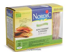 Хлібці Нордік 100г  зі злаків житні