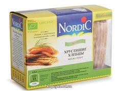 Хлібці Нордік 100г  зі злаків органичні