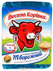 Сир пл. Веселая коровка 90г 50% творожний вітаміний