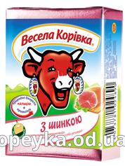 Сир пл. Весела корівка 90г 50%  шинка