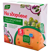 Суп На здоров`я 180г гороховий традиційний