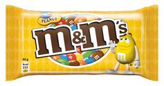 Драже M&M`s 45г арахіс мол. шок