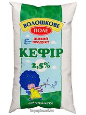 Кефiр Волошкове поле 0.900л 2,5% плівка