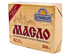 Масло Славія 200г баштанське екстра 82,5%