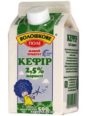Кефiр Волошкове поле 0.45г 2,5% п.п