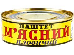 Паштет Онісс 100г м`ясний яловічі