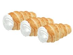 Пирожное 0.01 трубочка слоеная 3шт