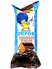 Сырки Волошкове поле 36г глазурь шоколад