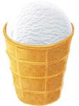 Морозиво Белая бяроза 70г пломбір вафельний ст