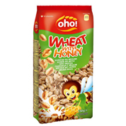 Готовий сніданок Oho 150г пшениця з медом