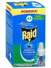 Рідина Рейд 33мл п.комарів 45 ночей евкаліпт