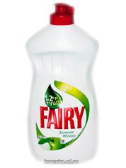 Засiб д.миття посуду Fairy 500мл зелене яблуко