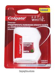 Зубна нитка Колгейт  оптік вайт