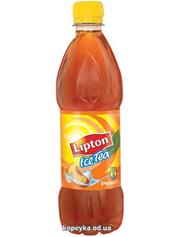 Холодний чай Ліптон 1.5л чорний персик