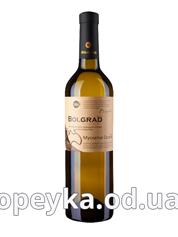 Вино Болград 0.75л мускатний біле н.солодке