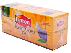 Чай Ліптон 25п magic aroma чорний байховий