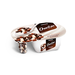 Йогур Даніссимо 100г фантазія шоколадні кульки