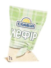 Кефір Славія 900мл 1% п.е