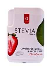 Екстракт солодкий Stevia 100таб. листя стевії